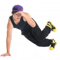 Asian hip hop dancer